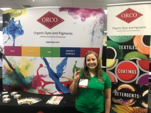 ORCO at NC State Job Fair 2018 1 - organic dyes