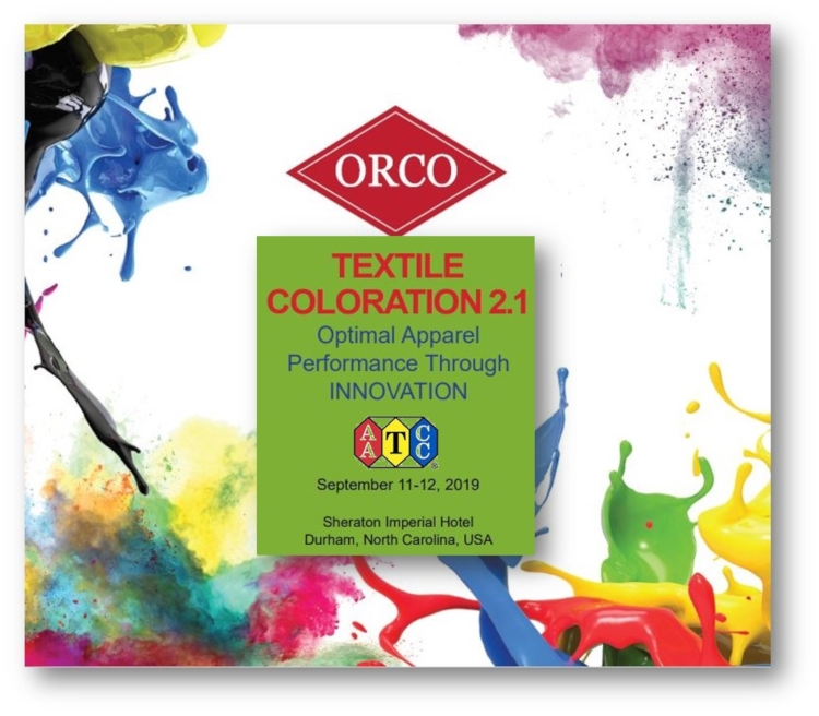 ORCO Is On The Cutting Edge Of Textile Coloration Innovations!