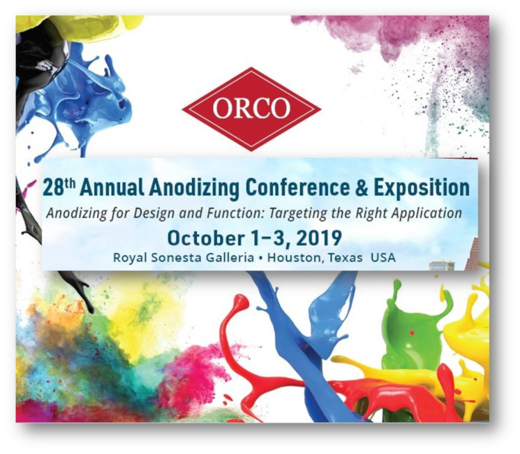 ORCO Team To Present Anodizing Dyes Technical Papers At AAC